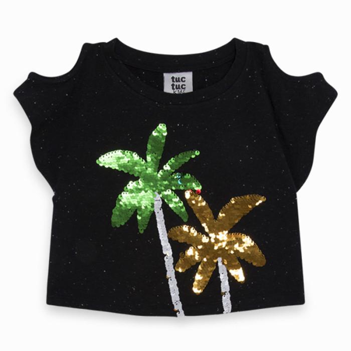black-sequins-jersey-t-shirt-for-girl-sunset-beach1