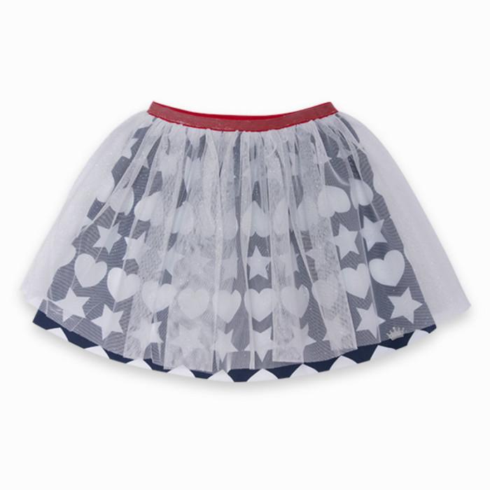 blue-little-stars-sateen-skirt-for-girl-fiesta1