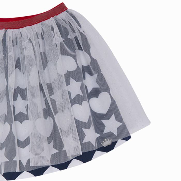 blue-little-stars-sateen-skirt-for-girl-fiesta