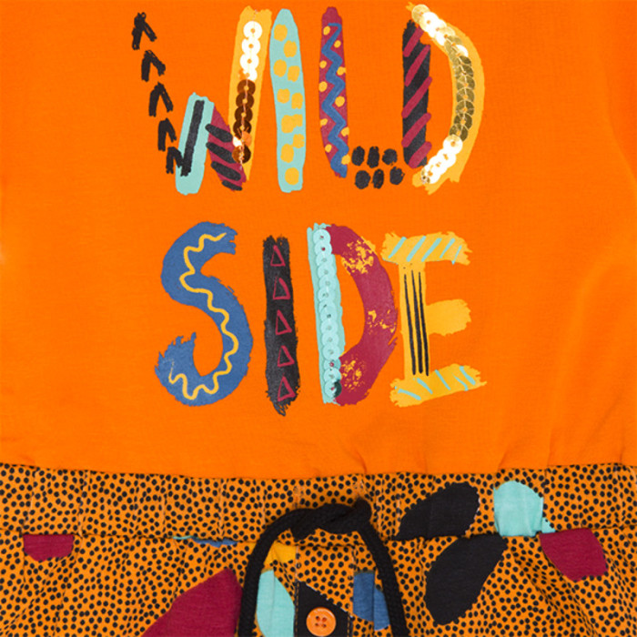 orange-pockets-jersey-dress-for-girl-wild-side