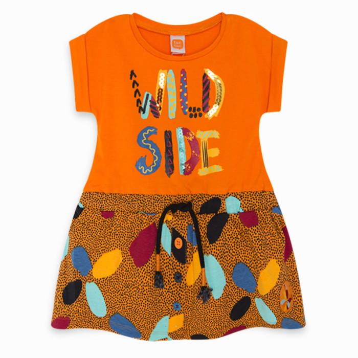orange-pockets-jersey-dress-for-girl-wild-side1