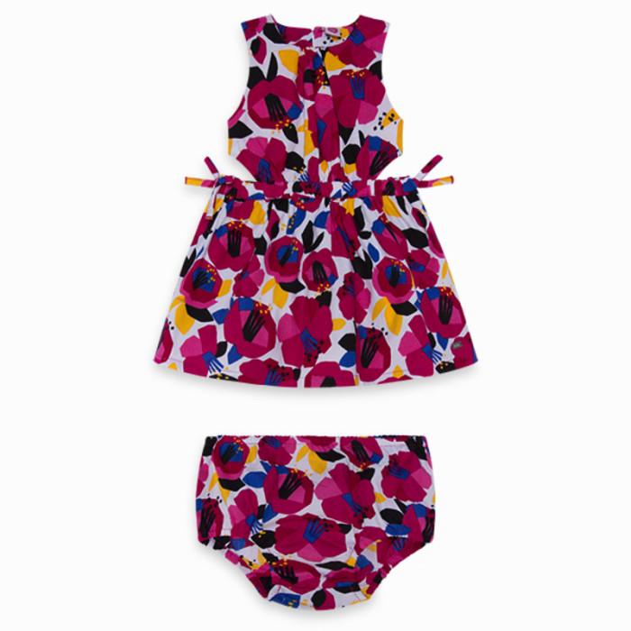 pink-printed-poplin-dress-for-girl-cat1