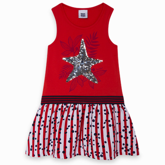 red-combined-jersey-and-viscose-dress-for-girl-lost-ocean