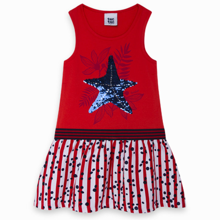 red-combined-jersey-and-viscose-dress-for-girl-lost-ocean1